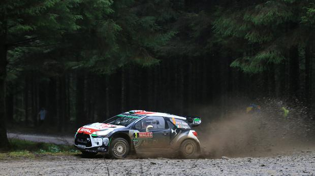 Kris Meeke reigned in Spain for his second win of the season