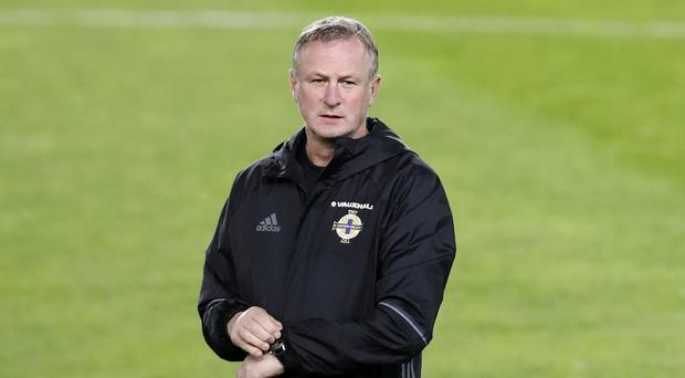 Michael O'Neill's Northern Ireland are assured of a play-off berth