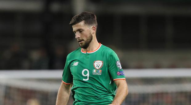 Republic of Ireland's Shane Long is out of the Wales game