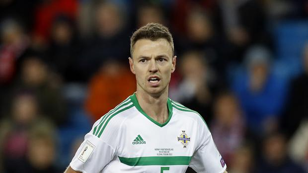 Jonny Evans' Northern Ireland have secured a play-off spot