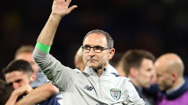 Martin O'Neill celebrates his side's victory