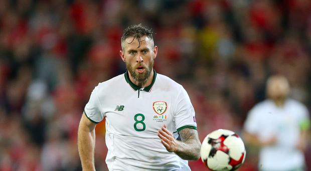 Daryl Murphy is relishing his role in the Republic of Ireland's World Cup mission
