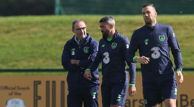 Sean Dyche: Jon Walters could feature in Ireland's World Cup play-off
