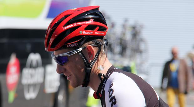 Ireland's Sam Bennett was victorious at the Tour of Turkey for a third straight day on Thursday