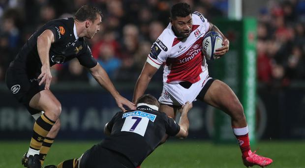 Ulster came from behind to beat Wasps