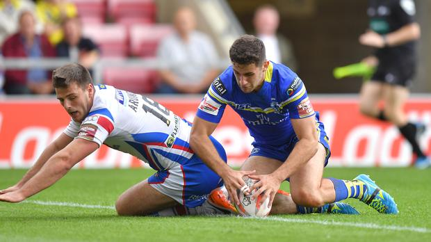 Warrington centre Toby King was a late withdrawal from Ireland's World Cup squad