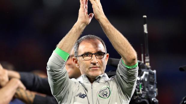 Martin O'Neill's Republic of Ireland side will learn their World Cup play-off opponents on Tuesday