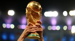 Northern Ireland and the Republic of Ireland will on Tuesday discover their opponents for the European play-offs for the 2018 World Cup finals in Russia