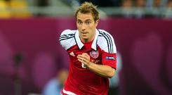 Christian Eriksen is Denmark's star player