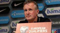 Michael O'Neill's Northern Ireland are a two-legged tie away from reaching Russia