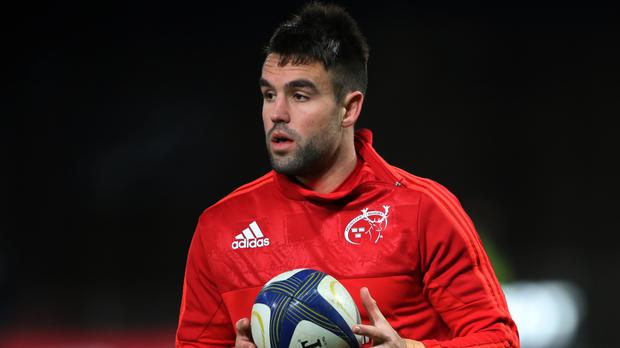 Conor Murray set the ball rolling for Munster