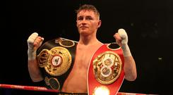 Ryan Burnett was the winner in Belfast