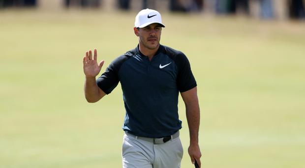 US Open champion Brooks Koepka carded a 64 to lead after day one of the WGC-HSBC Champions in Shanghai