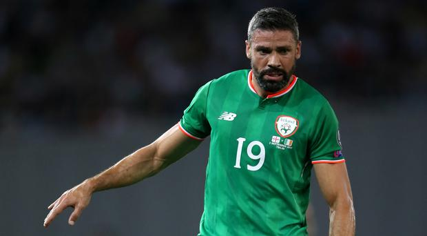 Jonathan Walters could yet make the Republic of Ireland's World Cup play-off against Denmark