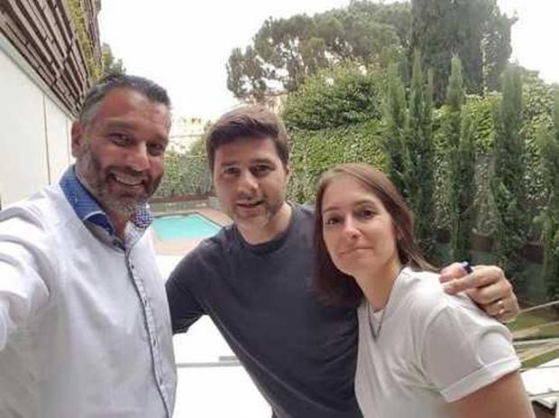 Guillem Balagué was given exclusive access to Pochettino and his family for his new book 'Brave New World'