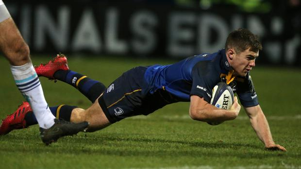Luke McGrath scored two of Leinster's three tries