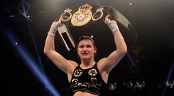 Katie Taylor now holds the WBA title