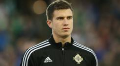 Paddy McNair tore his anterior cruciate ligament last November