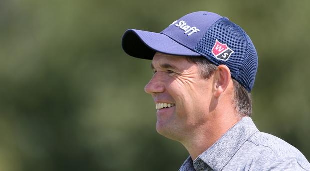 Padraig Harrington was a shot off the lead after the opening round in Antalya