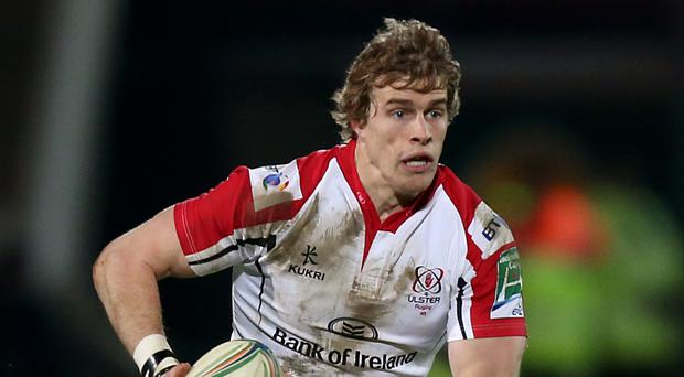 Andrew Trimble went over for one of Ulster's tries