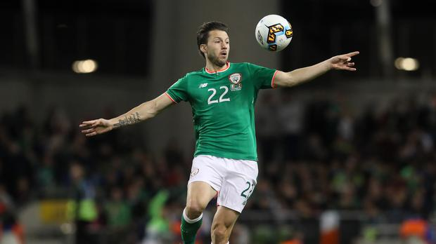 Harry Arter hopes fellow midfielder Jeff Hendrick will be available in Copenhagen
