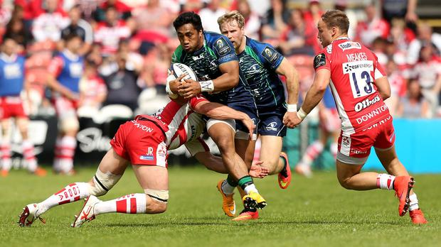 Bundee Aki will make his Ireland debut against South Africa this weekend