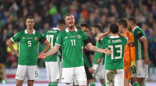 Northern Ireland's Corry Evans apologises for wife's controversial tweet