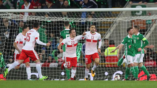 Ricardo Rodriguez's away goal has left Northern Ireland with a mountain to climb