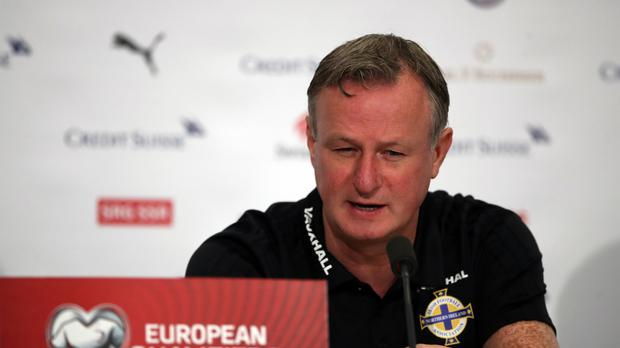Michael O'Neill has told his Northern Ireland players to move on from Thursday's controverisal penalty decision