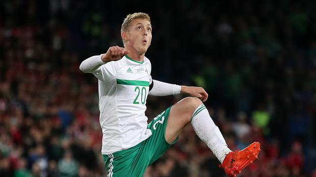 George Saville was a real bright spot for Northern Ireland