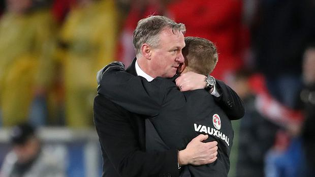 Northern Ireland boss Michael O'Neill is expected to be a man in demand