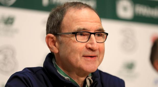 Republic of Ireland manager Martin O'Neill was in jovial mood at his press conference