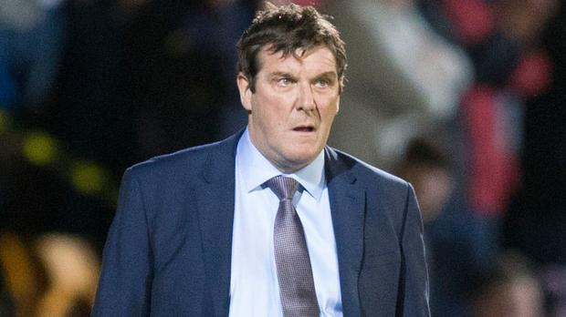 St Johnstone manager Tommy Wright, pictured, is likely to be a contender for the Northern Ireland job if Michael O'Neill leaves.