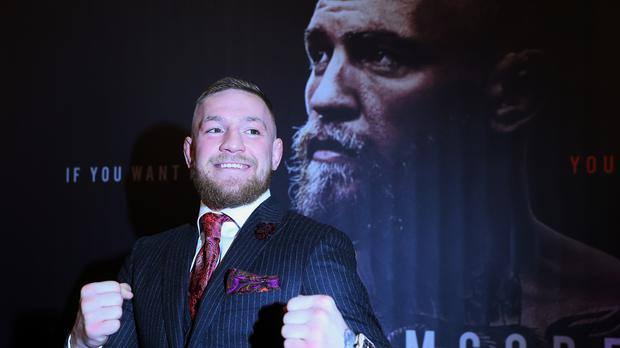 Conor McGregor has apologised after being involved in an angry altercation with a referee at an MMA event in Dublin