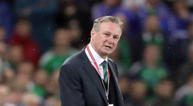 Scotland have made an official approach to Northern Ireland manager Michael O'Neill