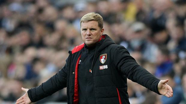 Bournemouth boss Eddie Howe was one of only four English bosses who lined up at the start of the current Premier League season