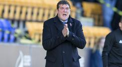 Boss Tommy Wright is happy at St Johnstone despite Northern Ireland speculation
