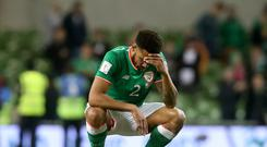 Republic of Ireland's Cyrus Christie was the victim of allegedly racist social media abuse which has been reported to the Gardai