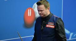 Shaun Murphy was a surprise first-round faller at the Northern Ireland Open