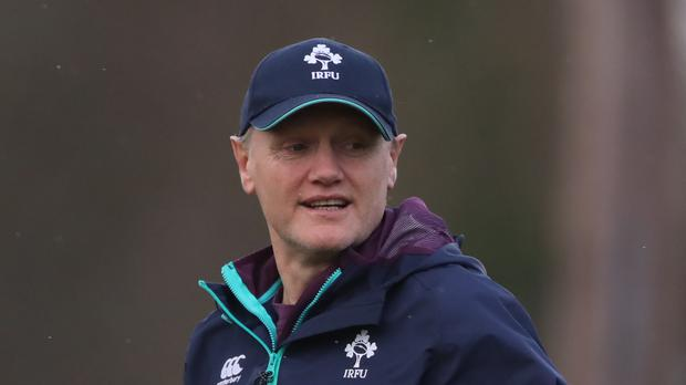 Head coach Joe Schmidt. Photo: PA