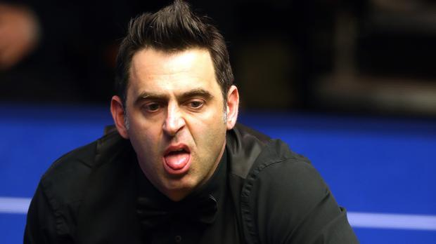 Ronnie O'Sullivan is through to the second round of the Northern Ireland Open