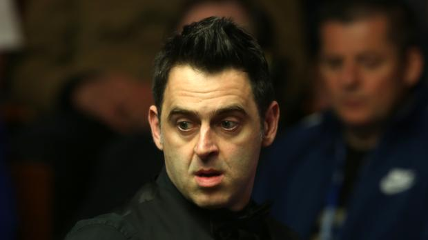 Ronnie O'Sullivan was knocked out of the Northern Ireland Open