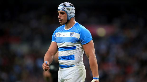 Tomas Lavanini is wary of Ireland's power in the pack