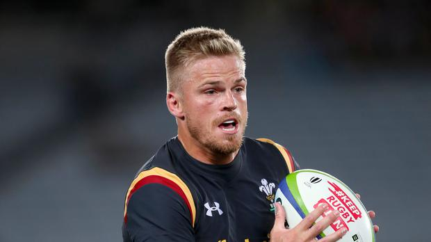 Gareth Anscombe was among the points for Cardiff Blues