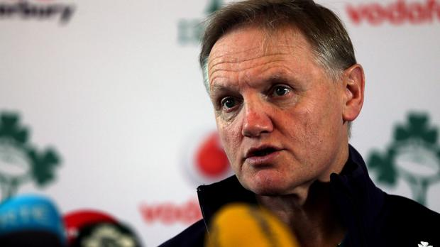'A Tier 2 side will make up the fixture list, but Schmidt has been focused on exposing his players to Rugby Championship opposition as often as possible between World Cups.' Photo: PA