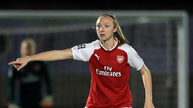 Louise Quinn was solid in defence for Republic of Ireland
