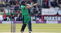 Paul Stirling struck a ton for Ireland