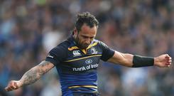 Isa Nacewa helped Leinster to a comeback victory over Exeter