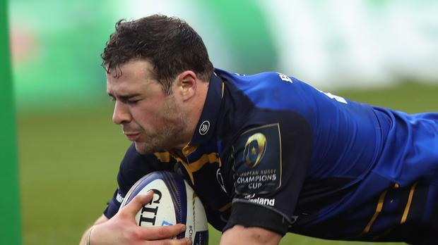 Robbie Henshaw was among Leinster's try-scorers in their victory over Munster