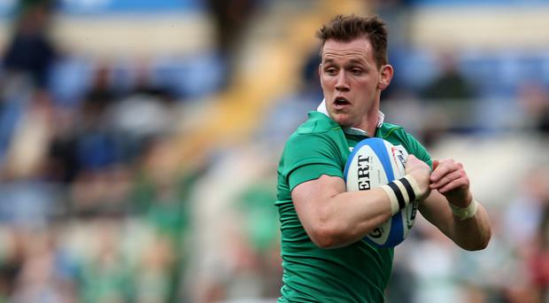 Craig Gilroy touched down twice for Ulster against Munster